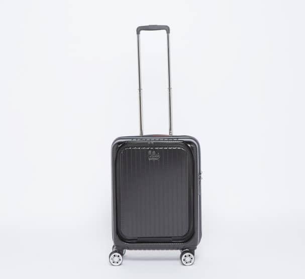 حقيبة سفر صلبة بارزة الملمس بمقبض قابل للسحب من دوتشيني2