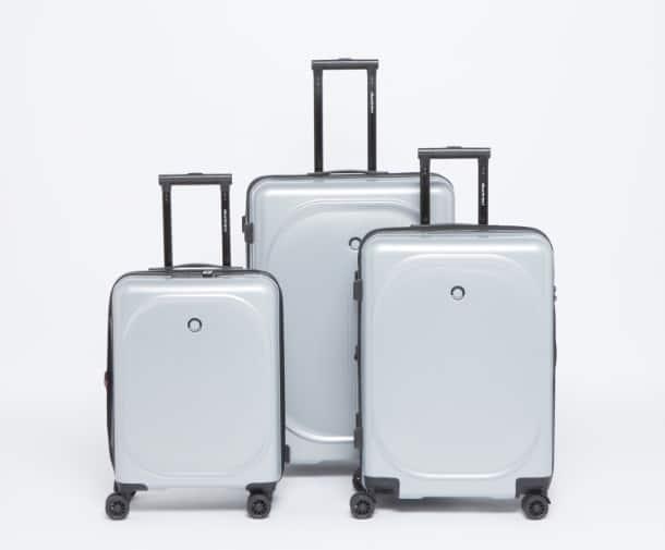 حقيبة سفر صلبة بارزة الملمس بمقبض قابل للسحب من دوتشيني3
