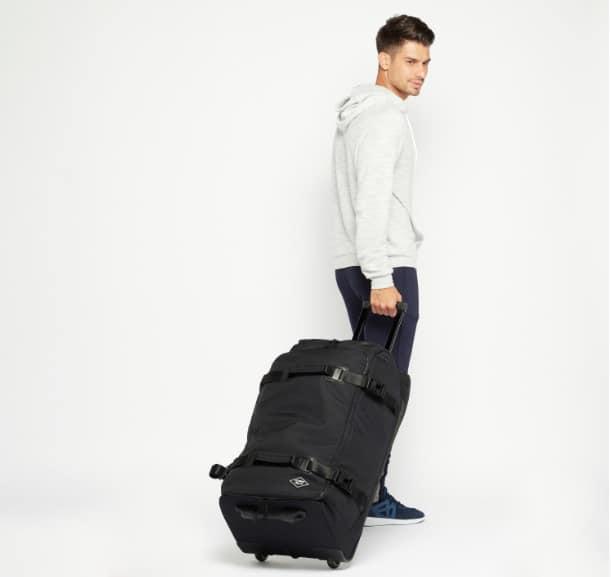 حقيبة سفر ناعمة الملمس بمقبض قابل للسحب من لي كوبر