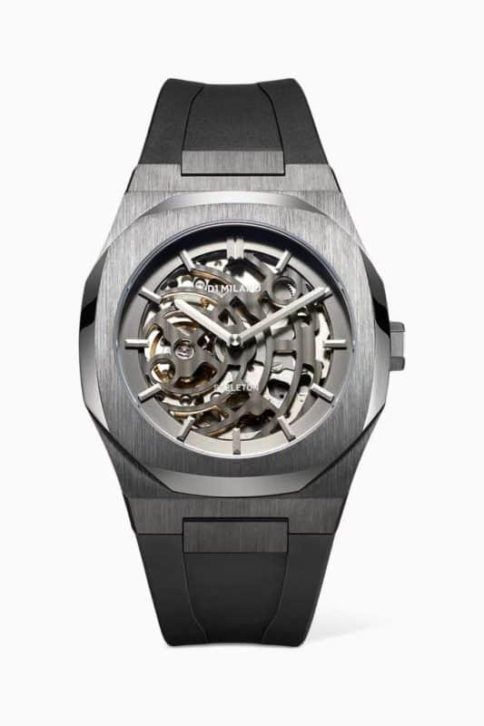 ساعة أوتوماتيك بهيكلية مرئية 41.5 مم
