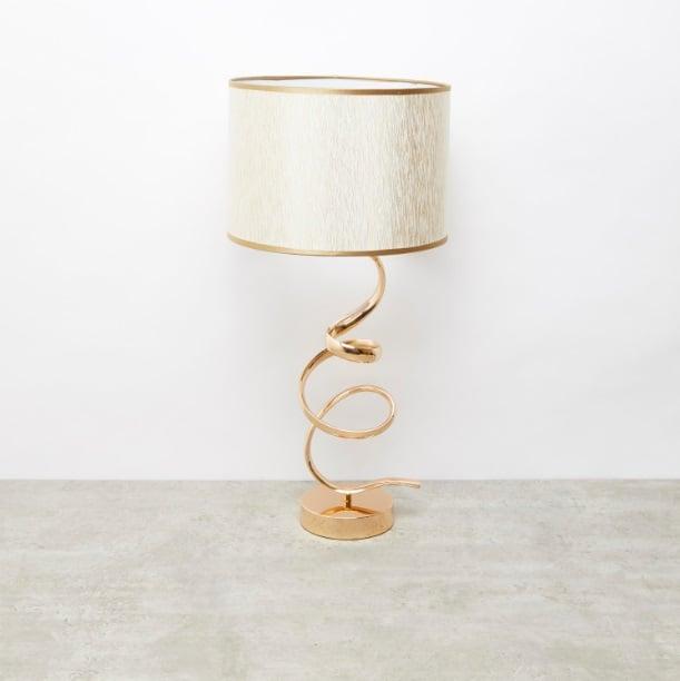 مصباح طاولة تجريدي - 18x14x45 سم