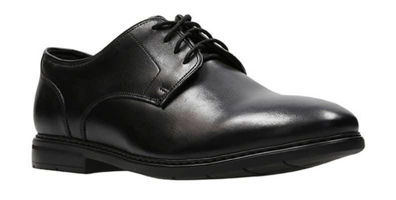 Banbury Leather Shoes Black Clarks 790x400