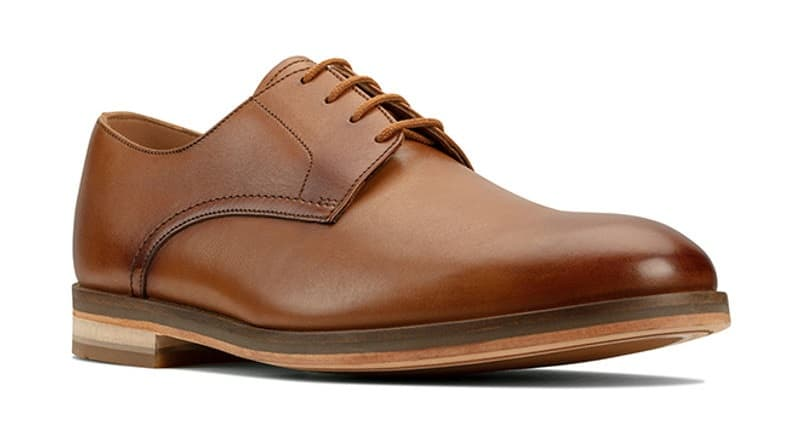 Oliver Lace Formal Shoes Brown Clarks