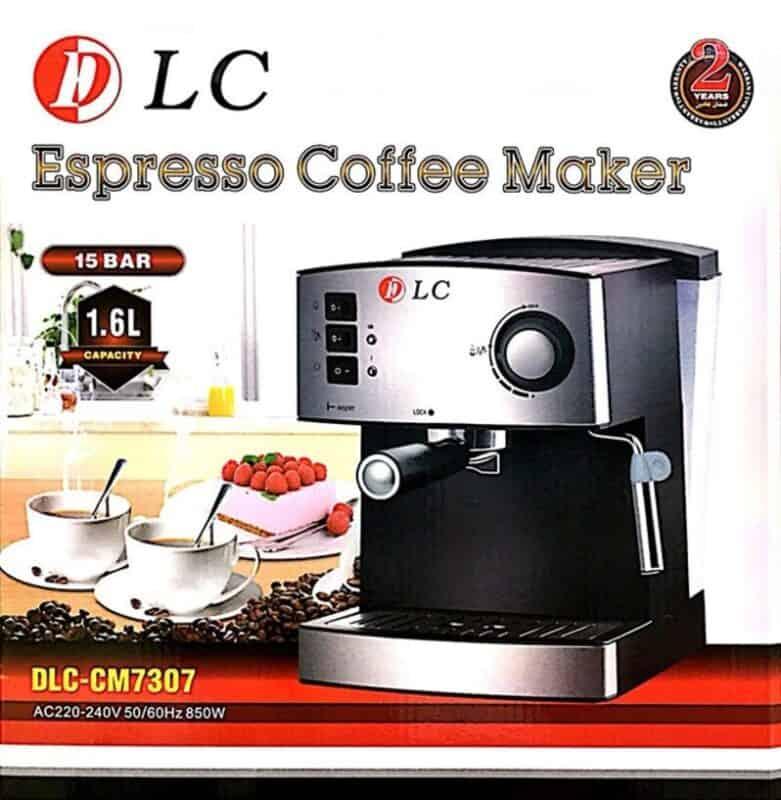 ماكينة صنع قهوة سعة 1.6 لتر من DLC
