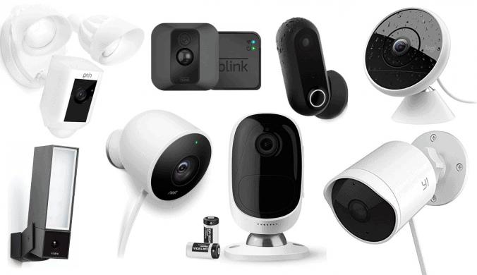 كاميرا مراقبة من نون